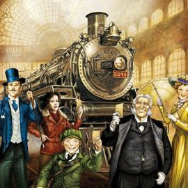lllus.: Julien Delval, Les aventuriers du rail, 10ème anniversaire (Days of wonder (c))