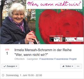 """Auf Facebook - """"Wer wenn nicht wir!"""""""
