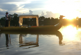 Balade romantique au sein du site d'Angkor