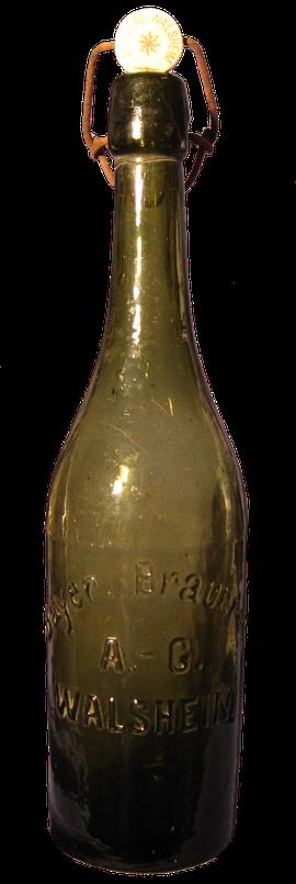 Walsheim Brauerei Bierflasche