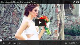 Peinado y Maquillaje de Novia Boda en Cuernavaca o Puebla