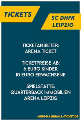 SC DHfK Leipzig Tickets 2021/2022