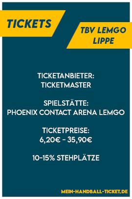 TBV Lemgo Lippe Tickets
