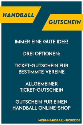 Handball Gutschein - Geschenk für Handballer