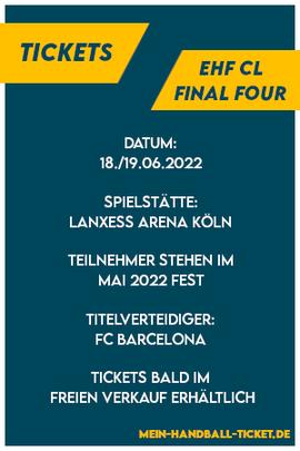 EHF Handball Final Four 2021 Köln