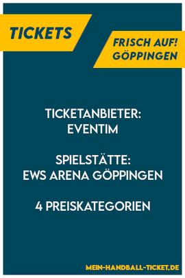 FRISCH AUF Göppingen Tickets