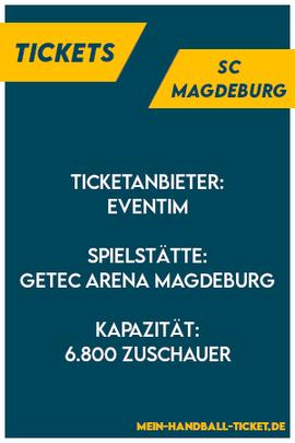 SC Magdeburg Tickets Handball