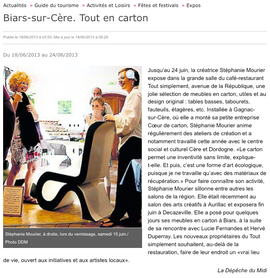 Vernissage Tout simplement - Biars - 15 juin 2013