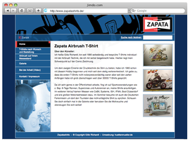 Zapatashirts オリジナルT-シャツ