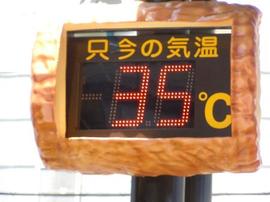 見たくもないですが、温度計