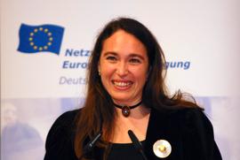 "Preisträgerin ""Frau Europas 2007"""