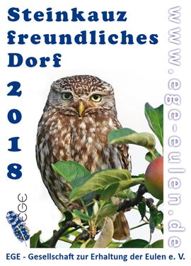 Steinkauz Steinkauzfreundliches Dorf 2018 NABU Düren