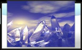 Beständige Wellen des Kristall-Wirbels