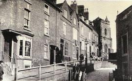 Church Hill Sutton Coldfield 1895 - Birmingham Public Libraries postcard