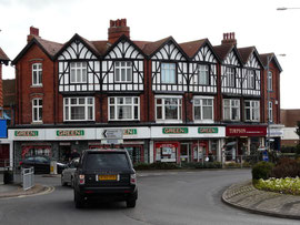 Junction of Mere Green Road and the Lichfield Road. Image by Graham Taylor on Geograph SP1198 reusable under a Creative Commons licence. See Acknowledgements.