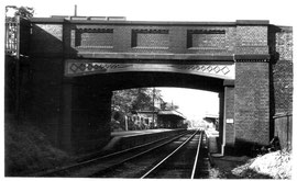 Bournville Station 1954 - Photo by D J Norton - see Acknowledgements