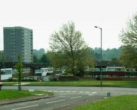 Bells Lane. looking south towards Kingswood