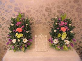 ご自宅用の祭壇花