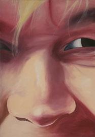 Christiane    /  huile sur toile  /    120 x 83