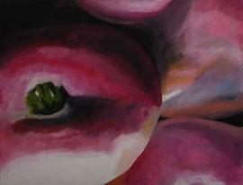 Navets    /  huile sur toile  /    44,5 x 58,5