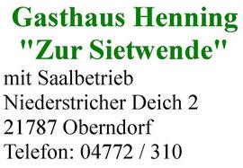 Gasthaus Henning Zur Sietwende