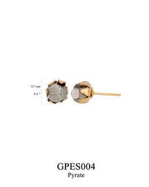 GPES004: GP 29, G OF E GP POST EARRING PYRATE IN CUP.