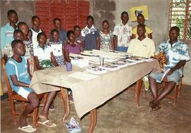 10 enfants parrainés par Sandotour et Lendemains Soleils Bénin