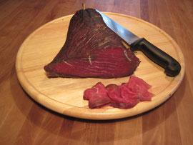 Geräuchertes Rindfleisch - Ein unvergleichlicher Genuß