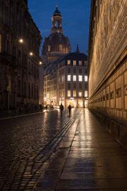 Die Kuppel der Frauenkirche in Dresden
