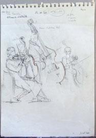 * 943- l...es musiciens, objet de mes études, ont donc animé et  joué les airs répétés pendant une année.