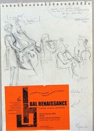 * 942-1. Le Bal Renaissance auquel je fus invité, a connu une affluence considérable,