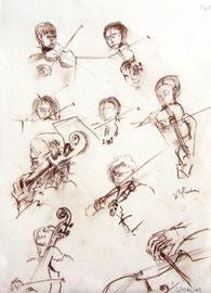 * 952... à décrypter le mouvement, la technique de jeu, le balancement du corps, la foi du musicien...