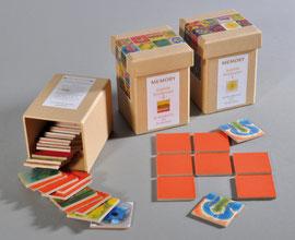 MEMO MIND – 20 unterschiedliche Paare je Spielbox