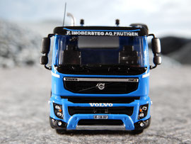 Volvo FMX, 5-achs Kipper / Imobersteg AG Transporte