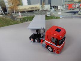 Scania P, Thermomuldenauflieger / Kästli Transport AG   Kästli Gruppe
