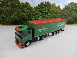 Küpfer Forstunternehmung AG / Lignocalor, Volvo FH mit Stahlstossstange