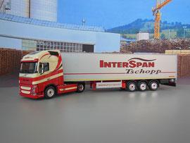 Volvo FH mit Auflieger PEISCHL / Interspan Tschopp