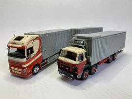 Saugwagen Volvo FH und BERNA D330 / Interspan Tschopp