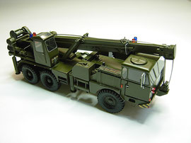 Faun der Schweizer Armee, stand ab 1973 - 1983 bei der Berufsfeuerwehr Bern im Einsatz. Zu beachten die Sondersignalisation.
