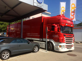 Cotra Autotransport AG, Foto: Thomas Sommer