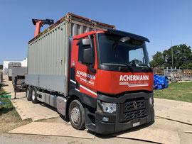 Achermann Transport + Kran, Foto: Thomas Sommer