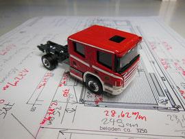 Fhs Scania CP 28 CrewCab von RMM, mit Fahrgestell von Herpa