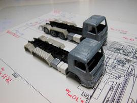 Volvo FMX / Basis-Fahrerhäuser von Motorart (vorher)