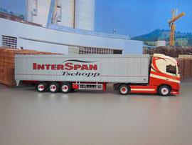 Volvo FH mit Auflieger KNAPEN / Interspan Tschopp