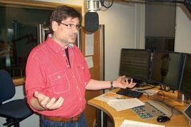 Er gibt unserem König Goldlos mit seiner Stimme Charakter: Radio MK-Moderator Frank Köhler