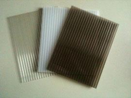 Doppelstegplatten in 3 versch. Farben