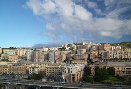 Auf Wiedersehen Genua – bis in 1 Woche !