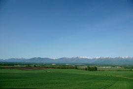 5月 日高山脈