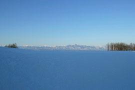 2月 日高山脈