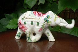 слоник декупаж